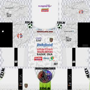 Bali United FC away kit 2020 dream league soccer
