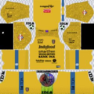 Bali United FC gk away kit 2020 dream league soccer
