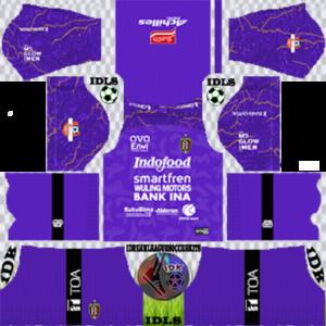 Bali United FC gk home kit 2020 dream league soccer