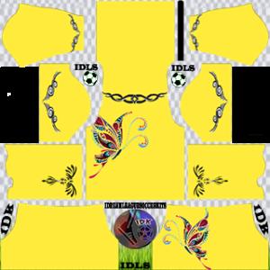Butterfly Dream League Soccer Kits