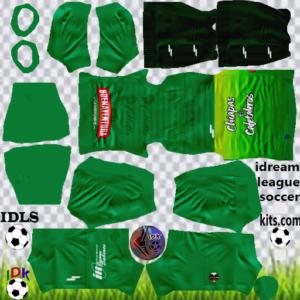 Cafetaleros Chiapas gk home kit 2020 dream league soccer