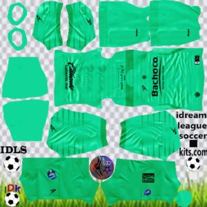 Celaya FC gk away kit 2020 dream league soccer