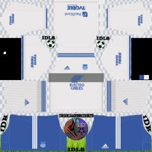 Emelec FC gk home kit 2020 dream league soccer