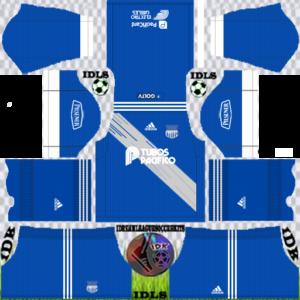 Emelec FC third kit 2020 dream league soccer
