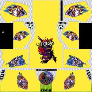 Ghost Dream League Soccer Kits