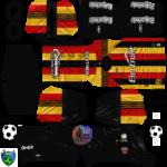 Leones Negros Kits 2020 Dream League Soccer