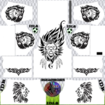 Lion Dream League Soccer Kits
