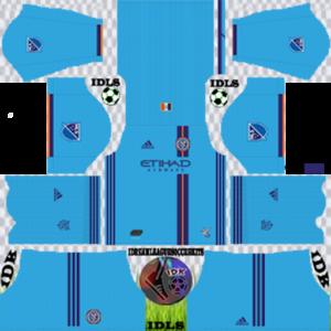 New York City FC Kits 2020 Dream League Soccer