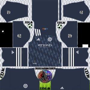 New York City FC away kit 2020 dream league soccer