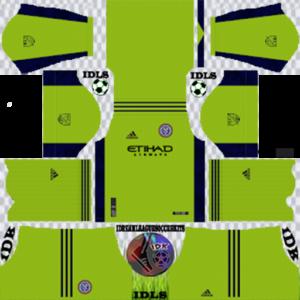 New York City FC gk home kit 2020 dream league soccer