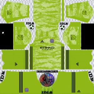 New York City FC gk away kit 2020 dream league soccer