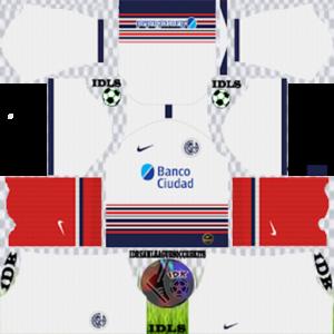 San Lorenzo away kit 2020 dream league soccer