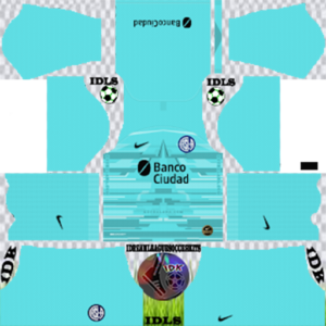 San Lorenzo gk home kit 2020 dream league soccer