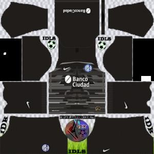 San Lorenzo gk away kit 2020 dream league soccer