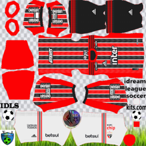 Sao Paulo FC away kit 2020 dream league soccer