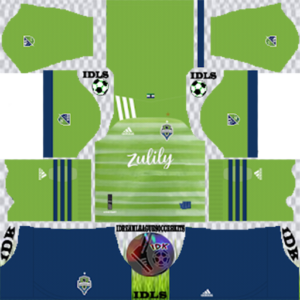 Seattle Sounders Kits 2020 Dream League Soccer