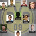 Best Borussia Dortmund Formation