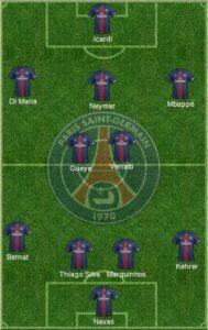 PSG formation