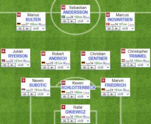 Union Berlin fifa formation