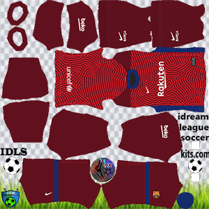 Barcelona dls gk away kit 2021