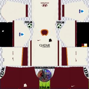 AS Roma away kit 2021 dls 2019