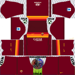 AS Roma home kit 2021 dls 2019