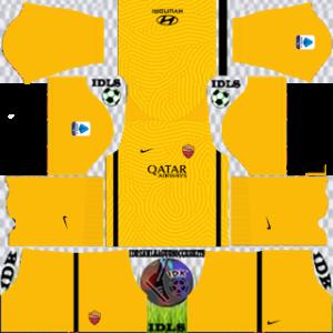 AS Roma third kit 2021 dls 2019
