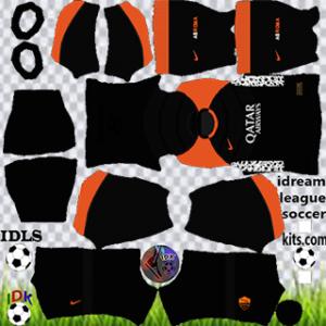 AS Roma kit dls 2021 terceiro