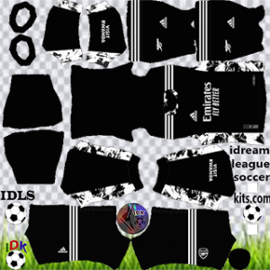 Arsenall kit dls 2021 gk home