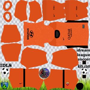 As Roma dls gk away kit 2021