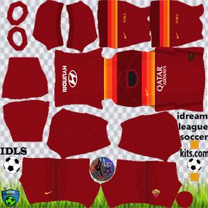 AS Roma DLS Kits Logo