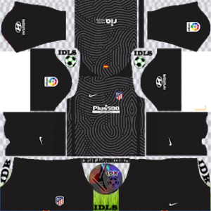 Atletico Madrid dls gk home kit 2021