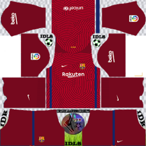 Barcelona dls gk away kit 2021
