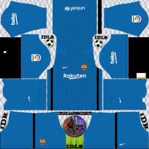 Barcelona dls gk third kit 2021