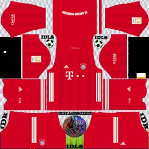 Bayern Munich DLS Kits Logo