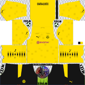 Borussia Dortmund dls fourth kit 2021