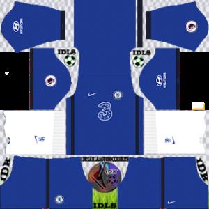 Chelsea home kit 2021 dls 2019