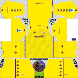 Fiorentina dls gk third kit 2021