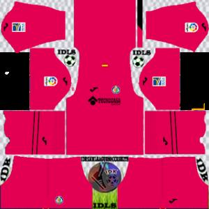 Getafe dls gk third kit 2021
