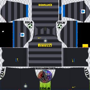 Inter Milan dls third kit 2021