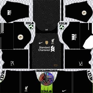 Liverpool gk home kit 2021 dls 2019