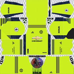 Manchester United gk away kit 2021 dls 2019