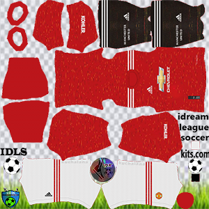 Logotipo do Manchester United DLS Kits