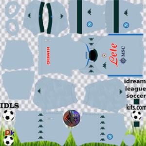 Napoli kit dls 2021 away