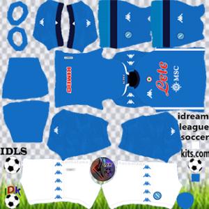 Napoli kit dls 2021 home