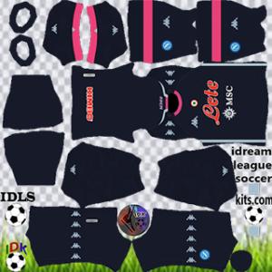 Napoli kit dls 2021 third