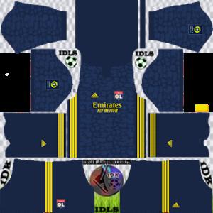 Olympique Lyonnais dls third kit 2021