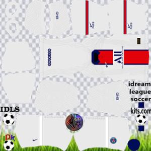 PSG kit dls 2021 away