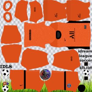 PSG kit dls 2021 gk home