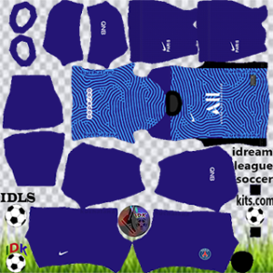 PSG kit dls 2021 gk third